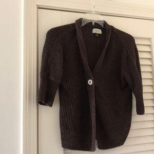 Sonoma Sweaters - Brown shrug size L, Sonoma brand.